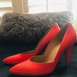 BALENCIAGA classic red pumps